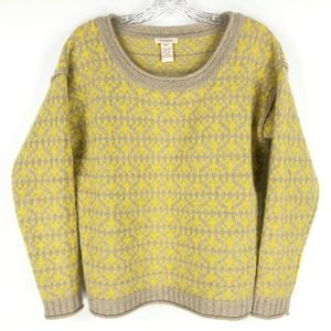 SUNDANCE XS Sweater Lambswool Rabbit Yellow Tan